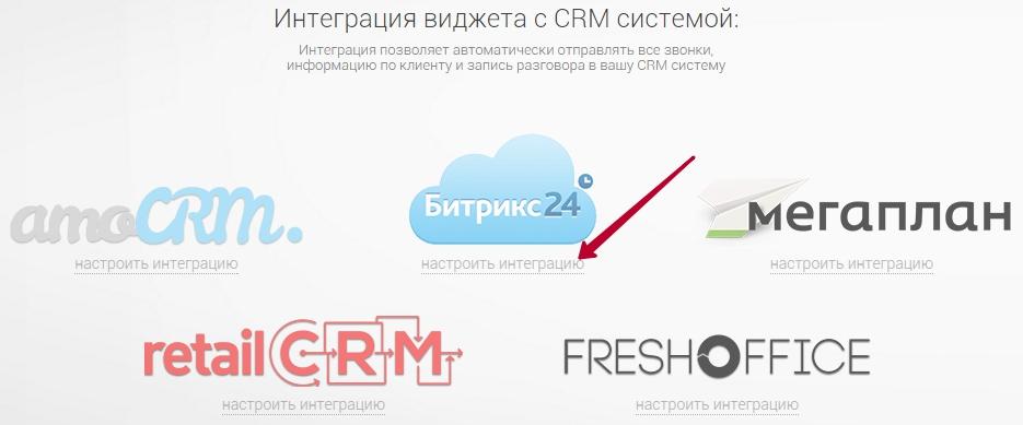 Настройка интеграции с CRM Битрикс24